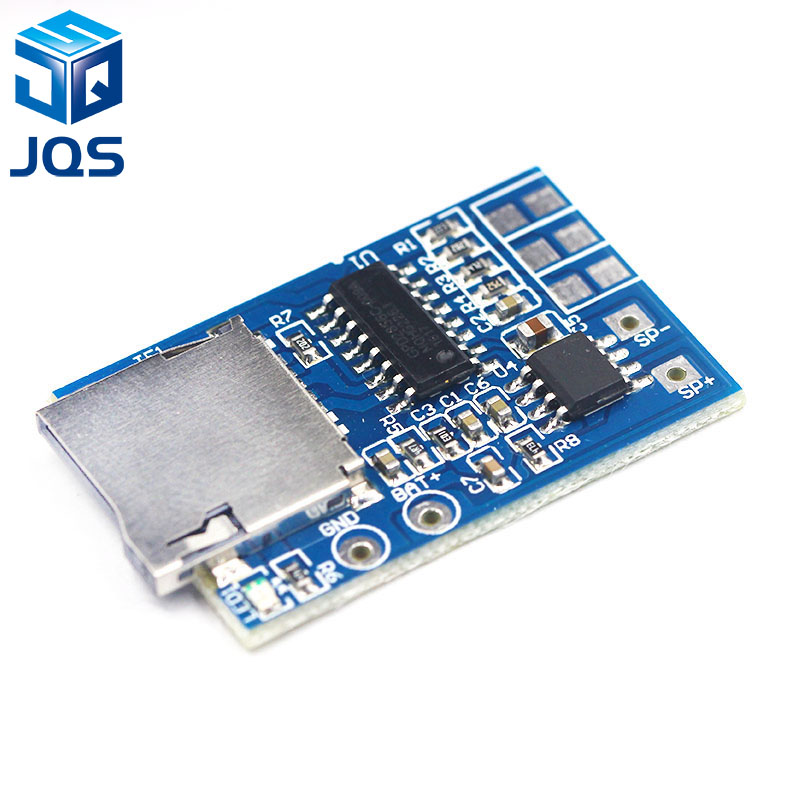 GPD2846A TF Card MP3 Decoder Board 2W Amplifier Module For Arduino GM Power Supply Module