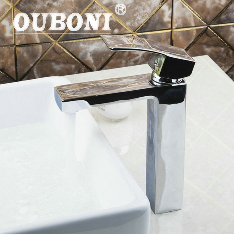 Ouboni Vintage Novelty Roman Bronze Wine Glass Art Bath Decor Water Vessel Waterfall Bathroom Basin Faucet Sink Mixer Tap In Many Styles Bathroom Sinks,faucets & Accessories