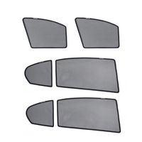 For Volkswagen Passat B7 2011 Magnetic Net Car Window Visor Side Windows Blinds Front Rear Side Window Sunshades Foldable