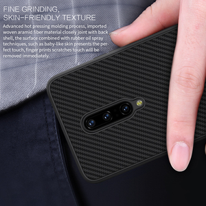 Image 5 - OnePlus 7 Pro Case Casing Nillkin Synthetic fiber Carbon PP Plastic Back Case for OnePlus 7/7 Pro Cover