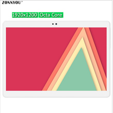 10.1 pulgadas Tablet PC Octa core 4 GB RAM 32 GB ROM 5MP pantalla IPS Tablets Smartphone Ordenador 1920*1200 GPS Bluetooth Wi-Fi tabletas