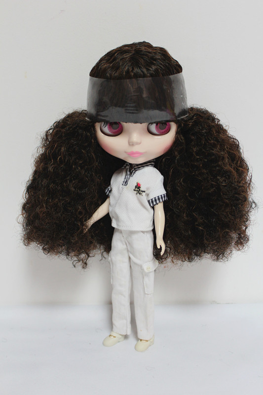 Free Shipping big discount RBL-64DIY Nude Blyth doll birthday gift for girl 4 colour big eyes dolls with beautiful Hair cute toy free shipping big discount rbl 11 15 diy nude blyth doll birthday gift for girl 4 colour big eyes with beautiful hair cute toy