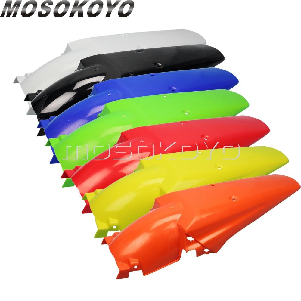 7 Colors MX Enduro Motocross Dirt Bike Rear Fender Mudguard Mud Cover Protection For Honda XR CRF Yamaha YZ WR KX KLX 250 450