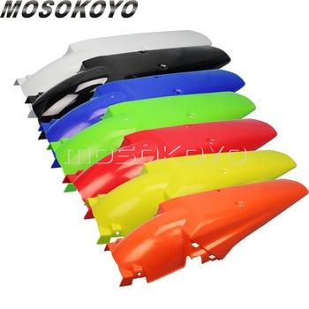 7 цветов MX эндуро Мотокросс Байк заднее крыло грязи Защитная крышка для Honda XR CRF YAMAHA YZ WR KX KLX 250 450 >> MOSOKOYO Store
