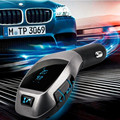 NewHigh Quality hands freeBluetooth Car Kit Car MP3 Player Stereo Handsfree Phone Speaker FM Transmitter USB Car Lighter Charger