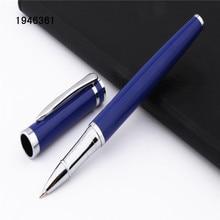 Luxury quality 3035 Blue Colour Student school office Medium Nib Rollerball Pen New