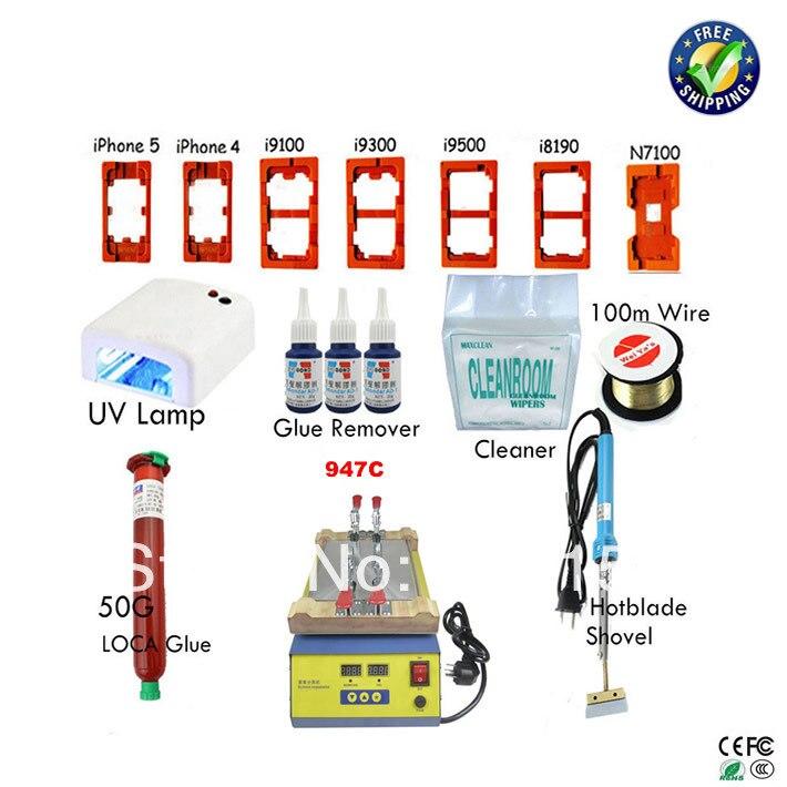 110/220V 947C Manual LCD Separator Machine with oca accessories