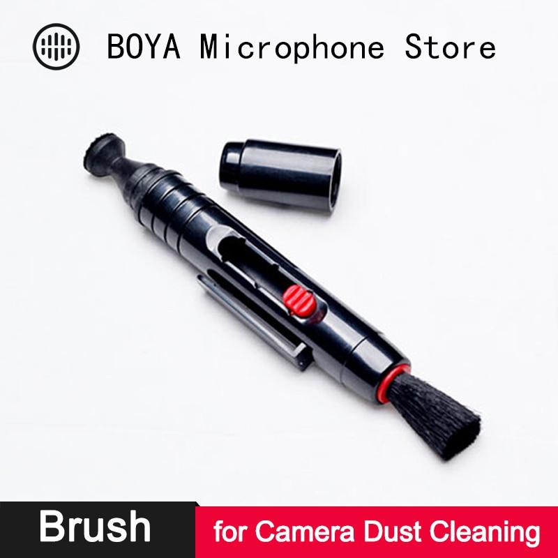 Lente da câmera digital caneta de limpeza de vidro tela poeira escova também para canon nikon sony pextax dslr slr limpeza acessórios
