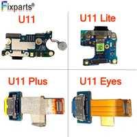 Für HTC U11 USB Lade Port Für HTC U11 Leben/Augen Ladegerät Port Dock Stecker Connector Board Für HTC u11 Plus Lade Flex Kabel
