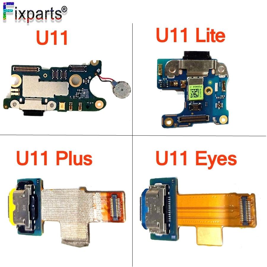 Para htc u11 porta de carregamento usb para htc u11 vida/olhos carregador porto doca plug placa do conector para htc u11 mais cabo flexível de carregamento