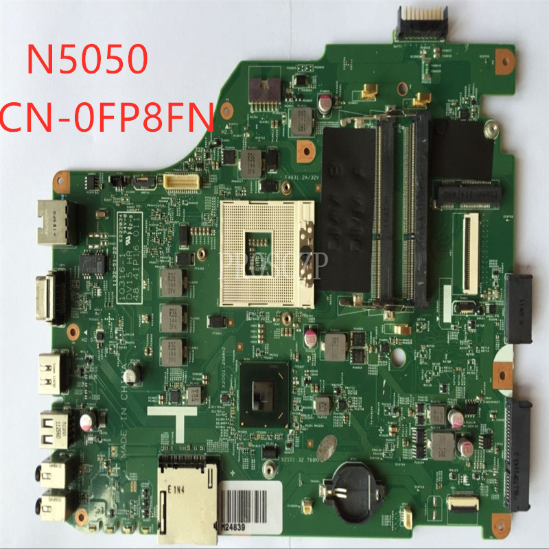 Free shiping Laptop motherboard for N5050 CN-0FP8FN 0FP8FN 0FP8FN 48.4IP10.011 10316-1 HM67 DDR3 100% tested OK