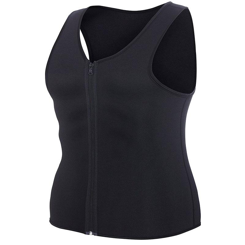 Men Sauna Running Vest Tank Tops Shapewear (4)