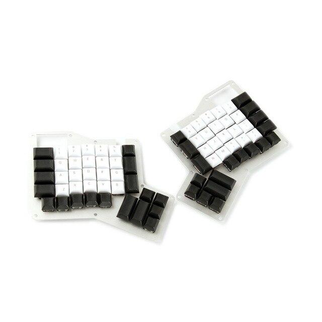 YMDK DSA Profil PBT Top Drucken Leere Ergodox Keycap Set Für Ergo Ergodox Tastatur Kostenloser Versand