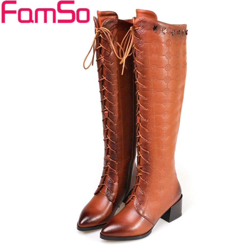 Plus Size 34 43 2016 New Classics font b Women b font Boots Black brown Autumn