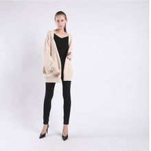 New style Casual fashion sweater coat Womans Long No buttons Open stitch Suitable for various stature Free size