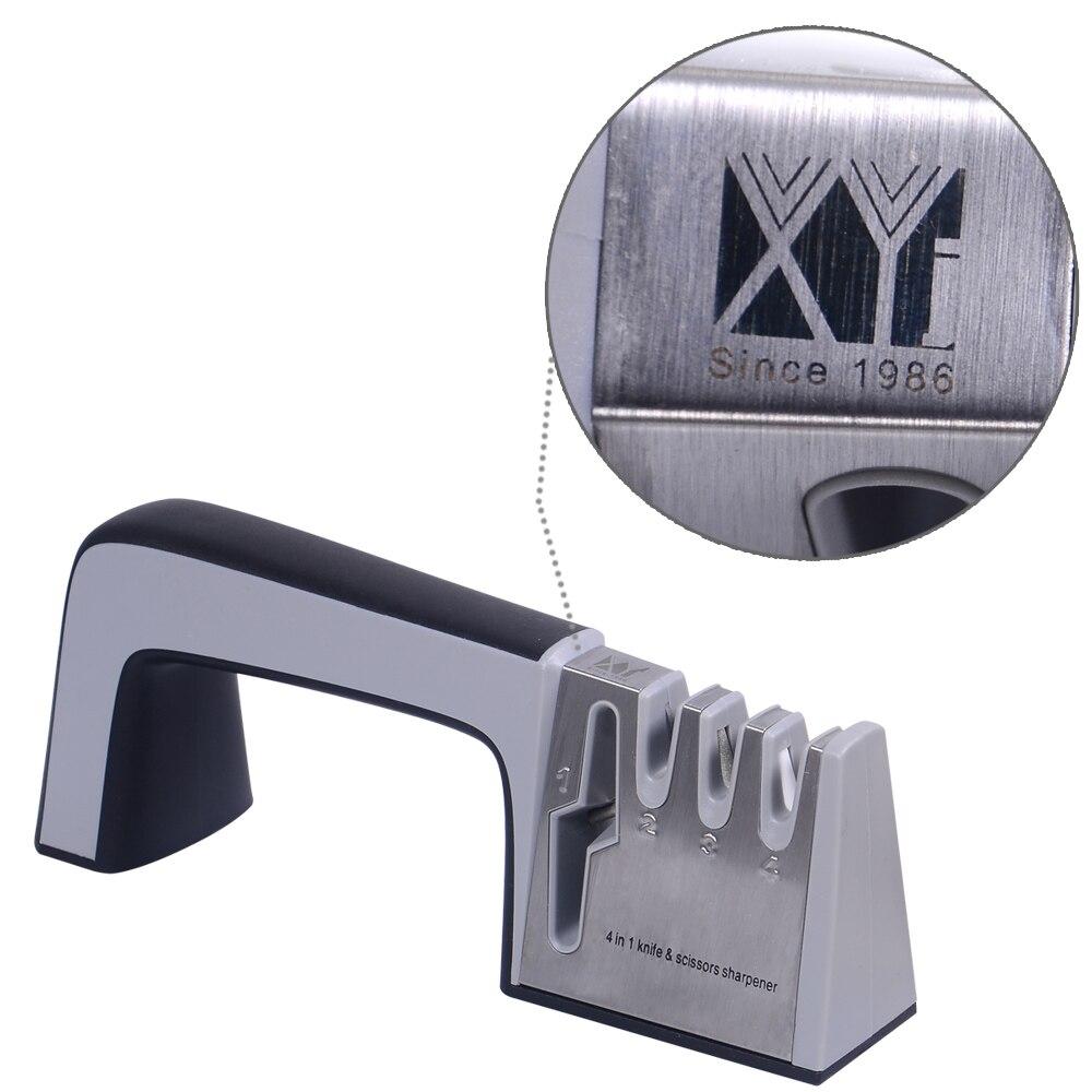 XYJ 4 σε 1 μαχαίρι και ψαλίδι ακονιστή - Κουζίνα, τραπεζαρία και μπαρ - Φωτογραφία 2