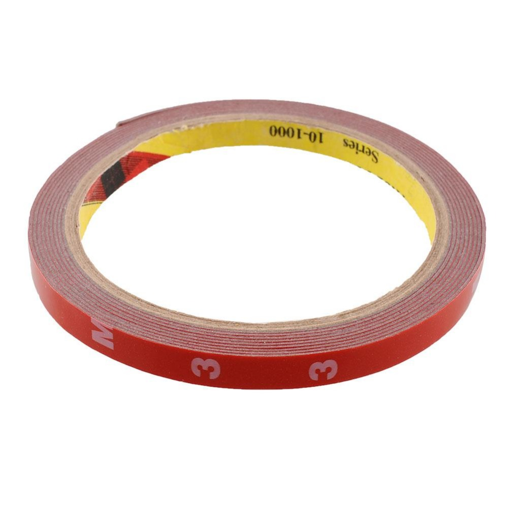 Double sided craft tape - New Multifunction Strong 8mm Thin 3m Double Sided Super Sticky Adhesive Tape Roll Auto Truck Essential