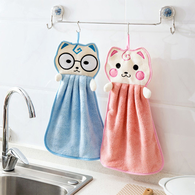 Cute Hand Dry Towel For Kitchen Use