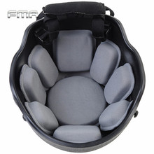Newest Universal Helmet Accessory FMA TB952 Combat Army Fighting Tactical Helmet Pad with Memory Foam Gray