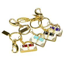 Keychain crystal luxury hand bag usb flash drive 1GB 2GB 4GB 8GB 16GB 32GB 64GB