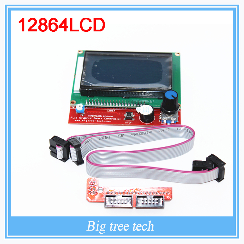 RAMPS1 4 LCD 12864 LCD Control Panel for 3D Printer Smart Controller Free Shipping