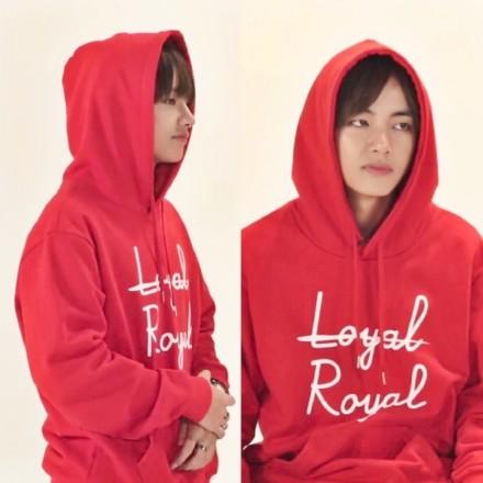 BTS Loyal Royal Hoodie