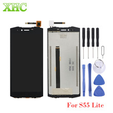 for DOOGEE S70 S55 Lite Y7 Plus LCD Screen Digitizer Full Assembly for Doogee S80 S80 Lite Screen Replacement