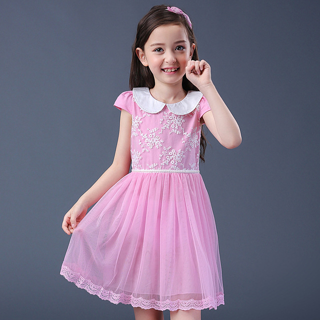 Fashion Teenage Dress 2017 New Summer Princess Birthday Wear Costume ...