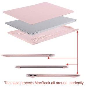 Image 4 - MOSISO קריסטל מט חלבית מקרה כיסוי שרוול עבור Macbook Air 11 אוויר 13 אינץ A1466 A1932 Mac Pro 13 15 רשתית A1706 A1708 A1989