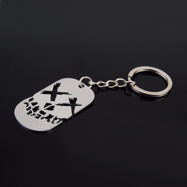 Suicide Squad- Harley Quinn/Joker Keychain