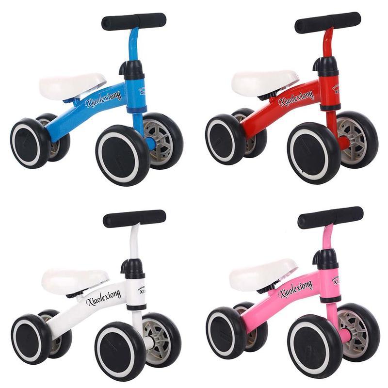 Haute qualité enfants trois roues Balance vélo enfants Scooter bébé marcheur 1-3 ans Tricycle vélo tour sur jouets cadeau pour bébé jouets