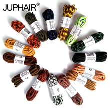JUP1-50 Pairs Yellow Brown Round Shoelaces Sneaker Shoe Laces Sport Boot lace Athletic String Unisex Different Length