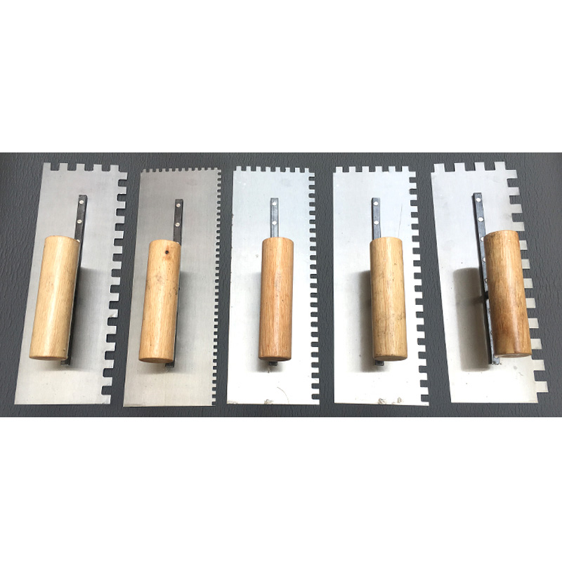 Multi-standard Toothed Trowel Square Tooth Sawtooth Trowel Tile Gray Knife Trowel Tile Tiling Bricklayer Tool