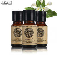 Jasmine Musk Rose essential oil AKARZ Famous brand For Aromatherapy Massage Spa Bath skin face care 10ml*3