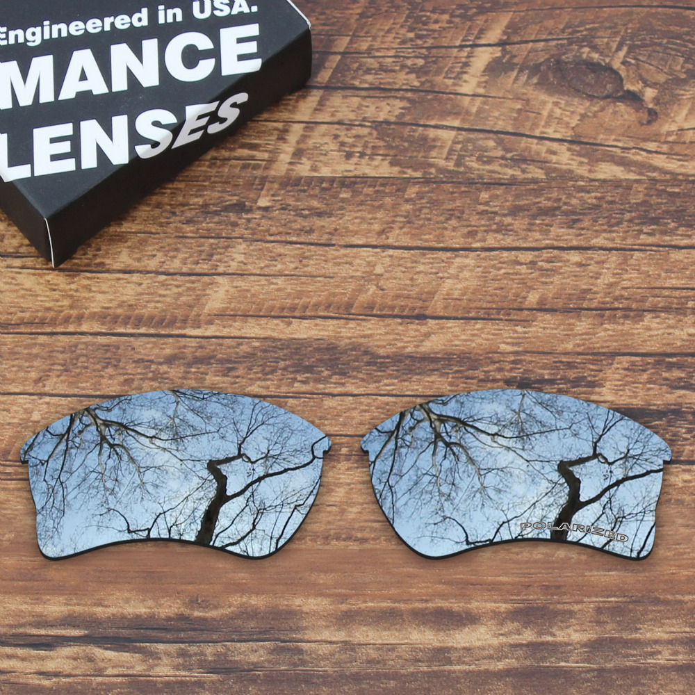 ad7a50b762 ToughAsNails Resist Seawater Corrosion Polarized Replacement Lenses for Oakley  Quarter Jacket Sunglasses Metallic Silver-in Accessories from Apparel ...