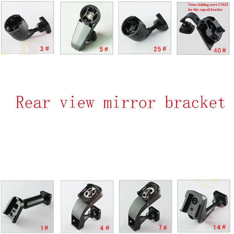 More than piece of Kinds of Special Bracket For Car font b Interior b font Mirror