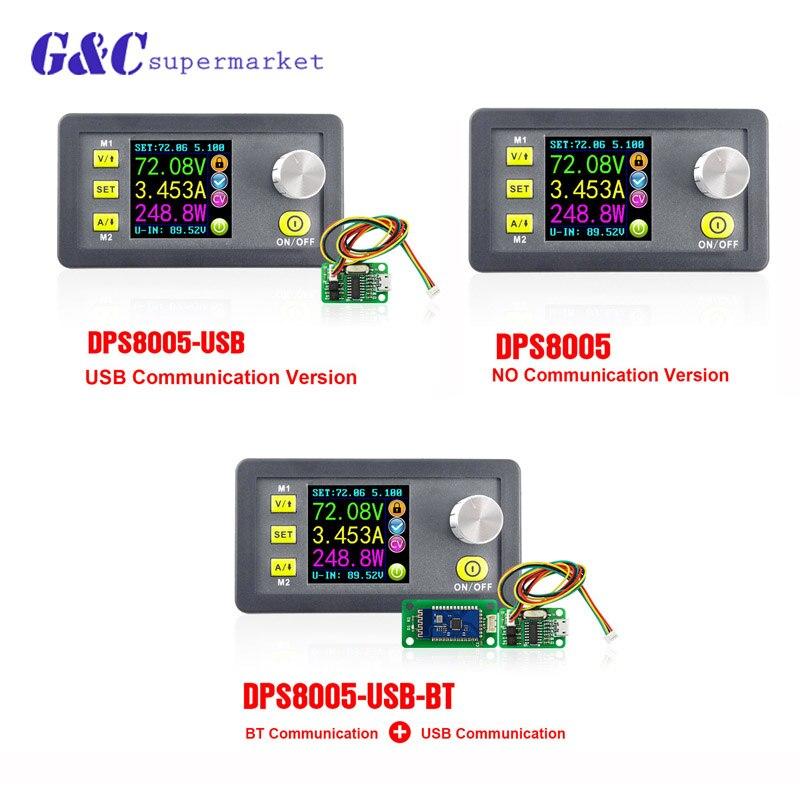 DPS8005 80 V tension constante 5A courant abaisseur programmable module d'alimentation ampèremètre voltmètre buck régulateur convertir