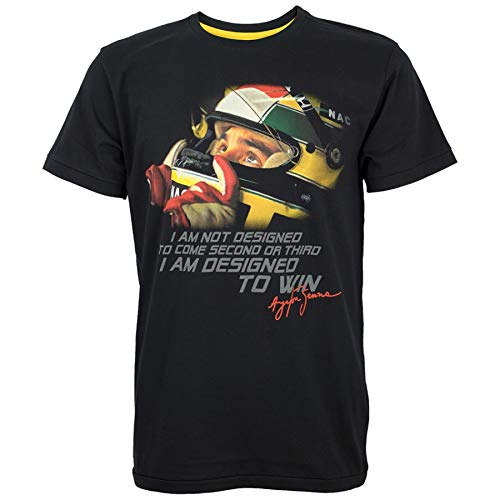 Ayrton Senna Helmet Tee Summer Short Sleeve Shirts Tops S~3Xl Big Size Cotton Tees Free Shipping T-Shirt Fashion