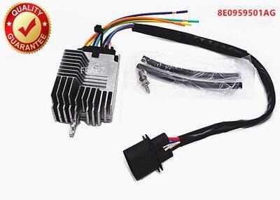 8E0959501AG MODULE de commande de ventilateur de radiateur Compatible pour AUDI A4 A4 CABRIO/8E0959501G/8E0959501K/8E0959501AB