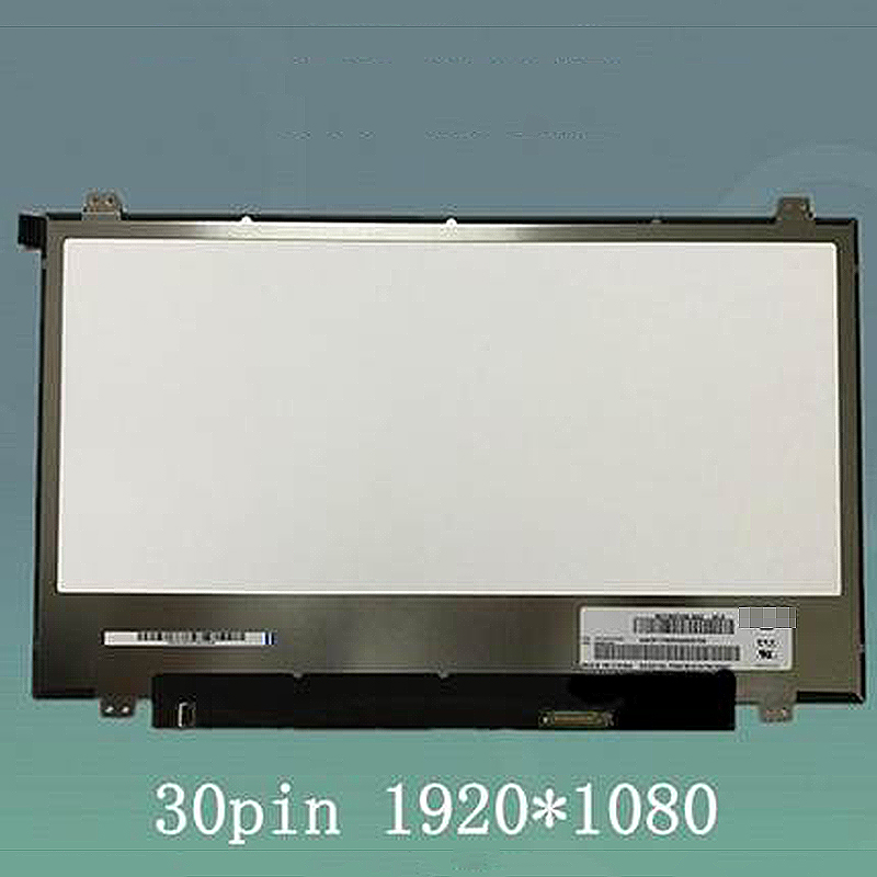 New <font><b>14</b></font> <font><b>inch</b></font> NV140FHM-N62 <font><b>LCD</b></font> Screen Display Panel 1920*1080 for BOE <font><b>30</b></font> <font><b>pins</b></font> eDP image