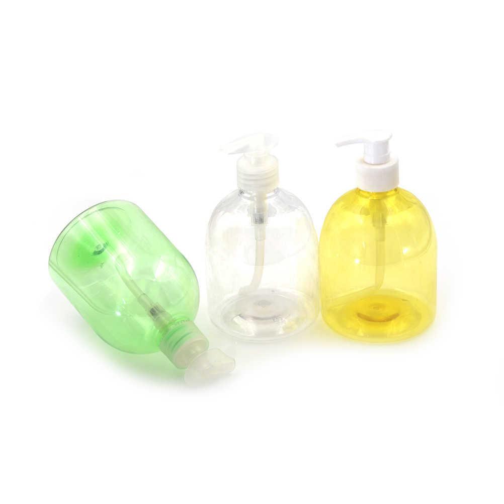 500 ml Bottiglie Vuote di Plastica Bagno di Sapone Liquido Dispenser Schiuma Bottiglia di Pompa A Mano Shampoo Contenitori Lozione Detergente