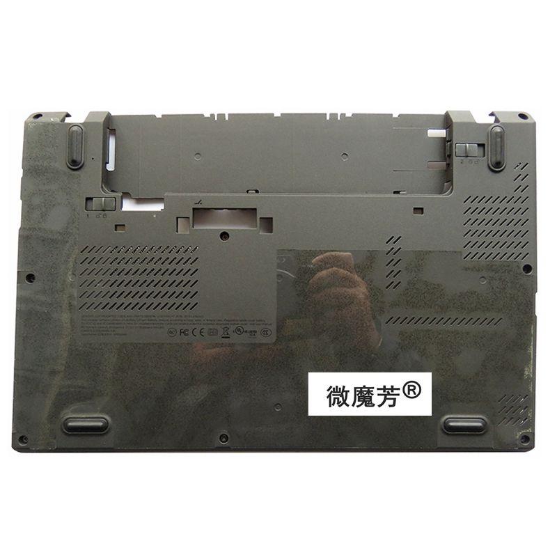 NEW Laptop Bottom Base Case Cover for Lenovo X240 X250 04X5184 0C64937 D shell new laptop bottom case for lenovo y570 y575 laptop bottom base case cover with tv black ap0hb000800 d shell
