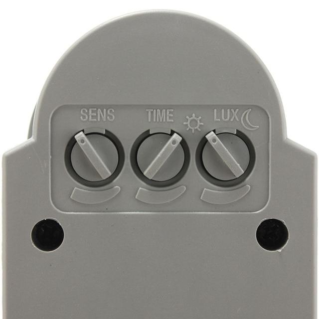 LED Motion Sensor 220V 110V 12V Automatic Infrared PIR Movement Detector Wall Mount Timer Outdoor 12 Volt Sensor Light Switch
