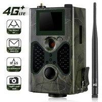 4G MMS Hunting Trail Camera 16MP 1080P SMTP SMS Wildlife Cameras HC330LTE Infrared IR Night Version Wild Photo Trap Cam