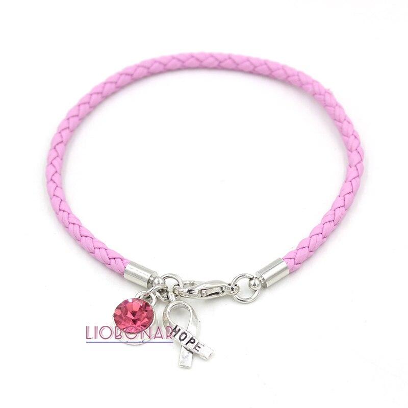 Breast Cancer Bracelets Bulk Bulk Breast Cancer Awareness Rubber Bracelets  At Dollartree