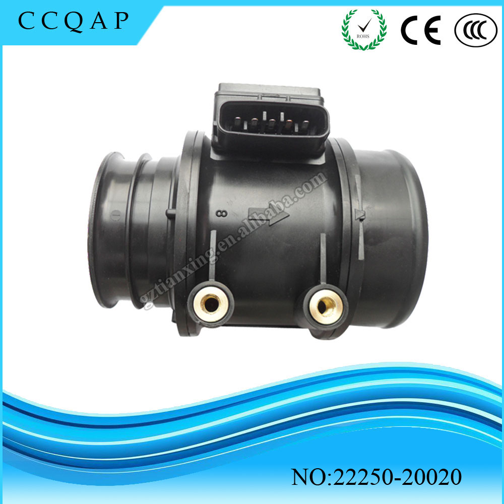 High quality 22250-20020 Mass Air Flow MAF Sensor For Toyota Avalon Camry 4runner Tacoma T100 mass air flow maf sensor oem f37f 12b579 fa f37f12b579fa for mazda b 3000 taurus sable tracer k m