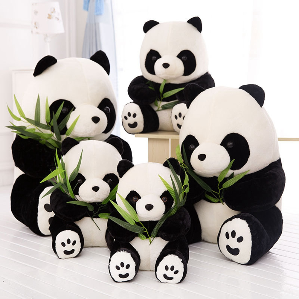 Cheap Price 1pcs 9/10/12/16cm Lovely Stuffed Kid Animal Soft Plush Panda Kneeling Sitting Bear Present Doll Toy Birthday Christmas Gift 2019 Official Stuffed & Plush Animals