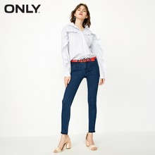 ONLY Женские джинсовые брюки с заниженной талией Slim Fit Crop с заниженной талией Джинсовые брюки