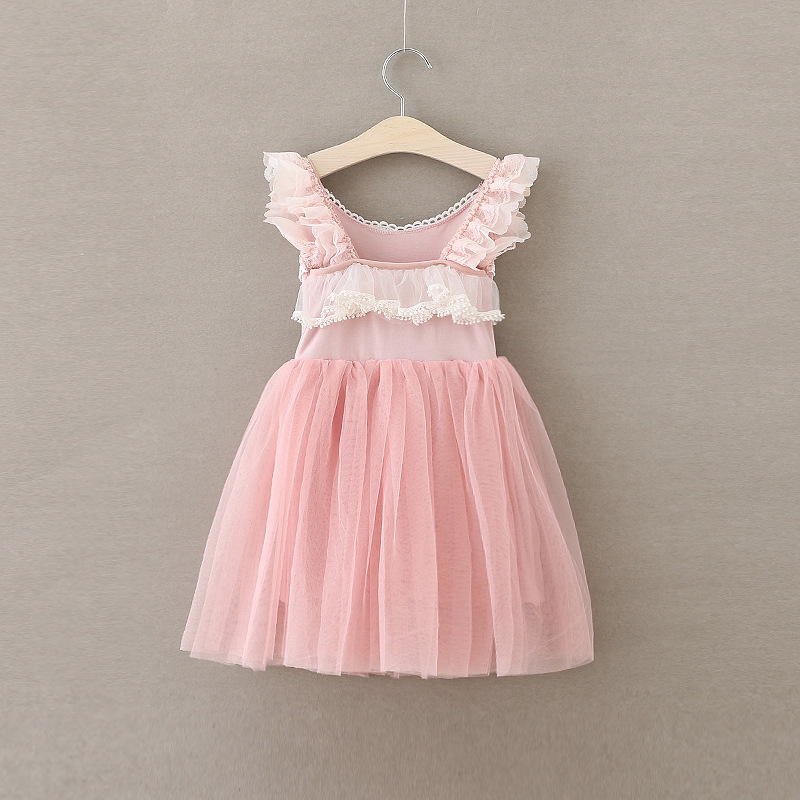 132367bc39b1d [Eleven Story] baby Girls summer lace cotton dress kids wholesale tulle  clothing children clothes 5BS511DS 54-in Dresses from Mother & Kids on ...