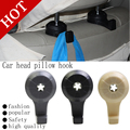Free Shipping Car 2Pcs/lot Hot  truck Bus Car Auto Fastener & Clip Portable Seat Hanger Purse Bag Organizer Holder Hook